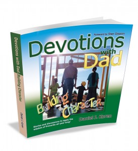 Gift for dads - devotional book